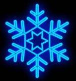 LED 밧줄 빛 크리스마스 훈장 눈송이 주제 빛