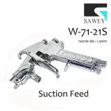 Sawey W-71-21s 수동 손 페인트 분무 노즐 전자총