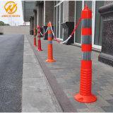 Высокое качество покрытия предупреждение Post, оператор форматирования дорожного движения