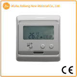 Termostato elettronico della stanza del riscaldamento con lo schermo dell'affissione a cristalli liquidi