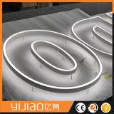 Carta de canal plástica de acrílico de encargo de las muestras LED de las cartas de canal de la fábrica profesional mini