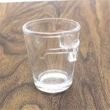 Drinkwareのタイプガラスタイプ創造的なガラスコーヒーカップ