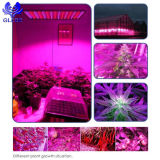 LED는 가벼운 위원회 45W 225 LEDs 백색 주홍색 파란 4 악대 가득 차있는 스펙트럼 플랜트 빛을 증가한다