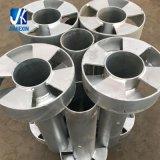 Poste structural en acier de butoir de soudure de fabrication