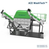 Niedriges Wasser-Verbrauch verunreinigte Plastikabfallzerkleinerung-waschendes trocknendes System