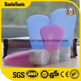 Бутылка косметики упаковки силикона перемещения шампуня лосьона 4 пакетов