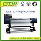 Популярный принтер Больш-Формы Рональд Soljet Ej-640 для цветастого печатание