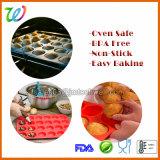 FDA Gâteau de bacs de moule à muffin en silicone