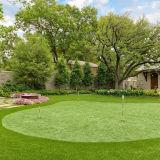 Высококачественный 15мм толщина зеленый открытый искусственном газоне
