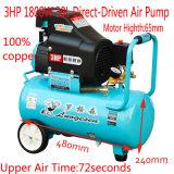 Compressore d'aria guidato diretto del mini olio della pompa di aria dell'automobile del trattore della gomma