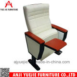 Алюминиевый стул Yj1613V аудитории ранга верхней части чехла из материи ног