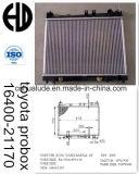Radiatore di saldatura dell'automobile brasato alluminio di alta qualità 2014 per Toyota Probox