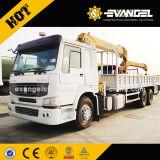 道4tonの指の関節のSanyの新しいトラッククレーンを離れたDongfeng 6X6