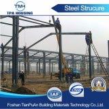 Structure en acier de construction de châssis de stockage préfabriqué