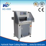 직업적인 제조자 종이 자르는 칼 (WD-490R) 유압 서류상 절단기