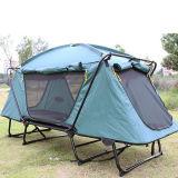 Tenda piegante di campeggio di campeggio esterna a terra automatica del magnate della base di pesca