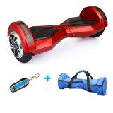 착색된 빛 스쿠터를 가진 2개의 바퀴 Hoverboard 8 인치 Bluetooth 각자 균형을 잡는 스쿠터 지능적인 전기 Hoverboard 전기 스케이트보드 전기 스쿠터