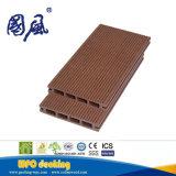 Plancher composé WPC de Decking imperméable à l'eau synthétique de Recycable