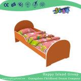 Modelo de la Rana de dibujos animados de madera pintura de la escuela jardín de infantes Niños Cama (HG-6503)