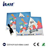 El mejor regalo de la Navidad para la familia con el regalo del vídeo del LCD de 2.8 pulgadas
