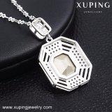 43241 Xuping Мода 8 грамм красочные камня ожерелья конструкций с кристаллами от Swarovski