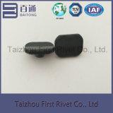 4.5X4.4mm schwarze Farben-fester Stahlniet