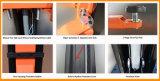 8 elevador do carro de borne da placa de assoalho 2 do borne da dobra