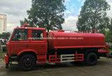 4X2 유조 트럭 12000 리터 물 물뿌리개 트럭 12 톤 화재 싸움