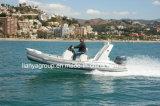 Liya 17pies botes inflables rígido Rib botes inflables de pesca