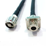 Faser-Optiksteckschnür des luftdichten Aufbau-wasserdichte IP68 Odc 2/Odc4