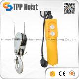 소형 크기 판매를 위한 트롤리를 가진 휴대용 전기 철사 밧줄 호이스트