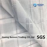 12.5mm Coarse Wire Grid 5% Silk 95% Fabric Knitting machine