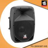 Altofalante portátil profissional de Bluetooth do amplificador da bateria de 8 polegadas com rádio de FM