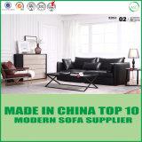 Mobilia classica moderna nordica del giardino del sofà del cuoio del sofà
