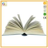 Impressão encaixotada Hardcover projetada do livro encadernado da alta qualidade boa