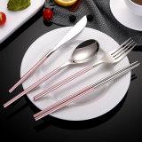 Couteau de fourches de cuillère d'acier inoxydable jeu de couverts de 4 parties