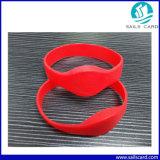 Подгонянные классические сплетенные Wristbands RFID для согласия