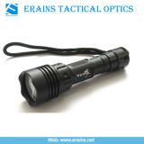 Ultrafire 강력한 전술상 크리 사람 P4 250 루멘 LED 플래쉬 등 (ES-OA-YE-05-03F)