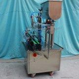 2 chefs automatiques mettant la machine en bouteille de remplissage de pâte de piston (Gt2t-2g)