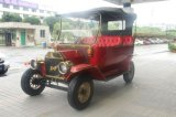 Pintura de auto Retro Carrito de golf de 5 kw Modelo T coche para el Scenic Spot