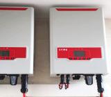 No último piso interno SAJ 1 fase 1 grelha MPPT no inversor solar com IP65