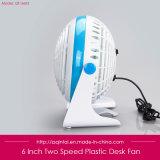 Ventilatore da tavolo del USB da 6 pollici per l'ufficio