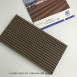 Fireproof Wood Plastic Composite Embossing Decking