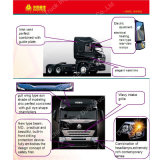 HOWO 6*4 화물 자동차와 무거운 트랙터 트럭
