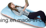 Le palier de grossesse avec la couverture du Jersey, C a formé le plein coussin With100%Cotton de support de dos de palier de corps