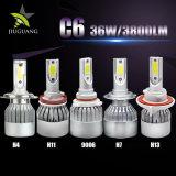 Fabrik Großhandels6500k 7200lm C6 PFEILER 360 heller LED Scheinwerfer