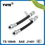 Hl en caoutchouc approuvés SAE J1401 de POINT de boyau flexible de frein du boyau