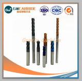 HRC45-70固体炭化物の端製造所の炭化物の端の製粉カッター