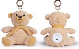 Cadeau sans fil portatif de Noël de mini orateur de Bluetooth de jouet de nounours d'ours