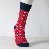 Счастливые носки продают цветастой расчесываемые нашивкой носки оптом платья хлопка